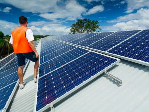 solar panels on wdcs